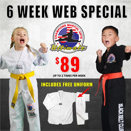 Champions Martial Arts 6 weeks web special